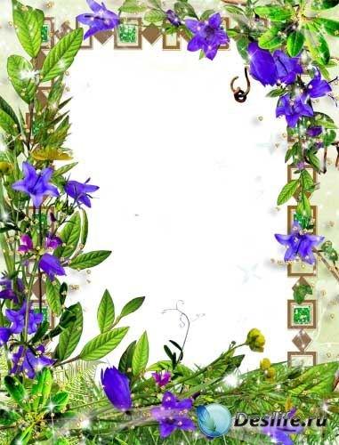 Рамка для фотошопа – Весна пришла