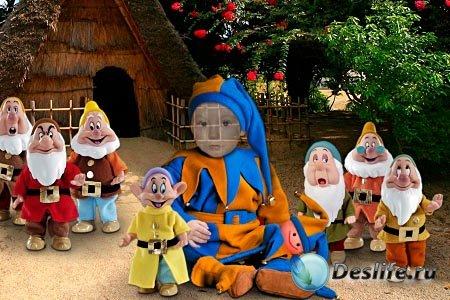 Детский костюм для фотошопа - Дружная компания