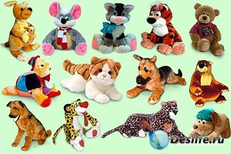 Клипарт - Мягкие игрушки