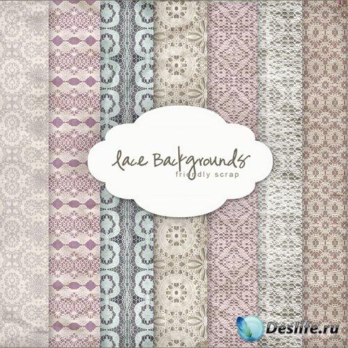 Textures - Lace Backgrounds