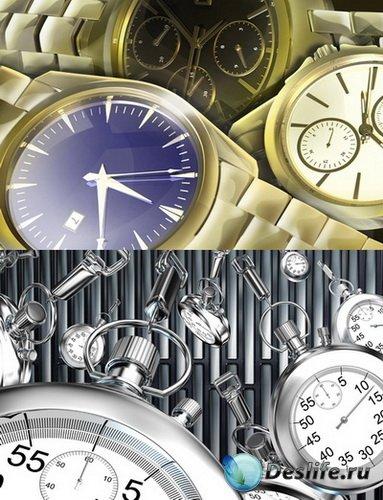 PSD Исходники - Наручные часы, Секундомер