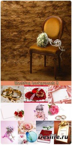 Фотоклипарт - Свадебные фоны 3