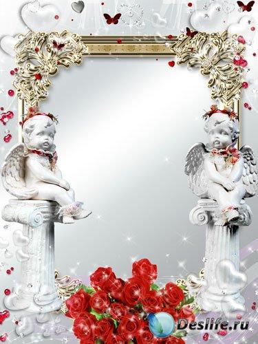 Рамка для фотошопа - Мой светлый ангел