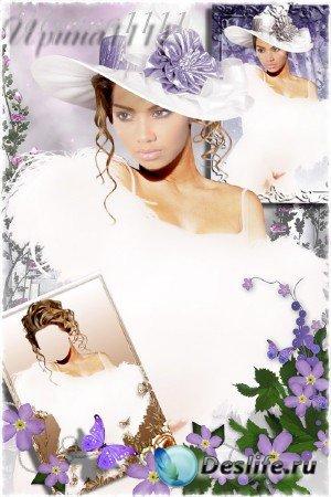 Женский костюм для фотошопа - Нежная ночь