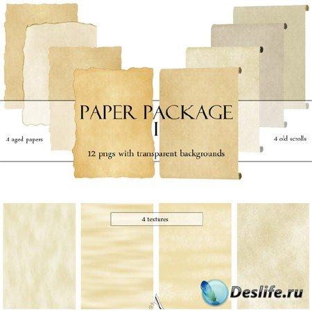 Текстуры - Старая бумага и свитки