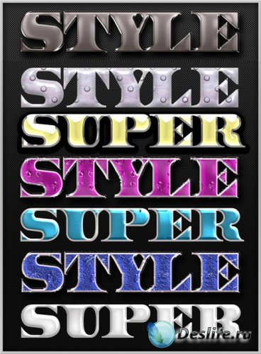 Super Styles for Photoshop