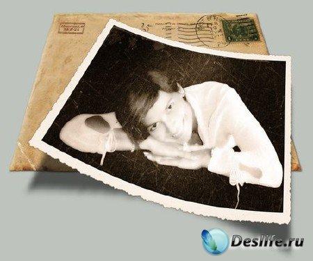 Экшен для фотошопа - Vintage photo