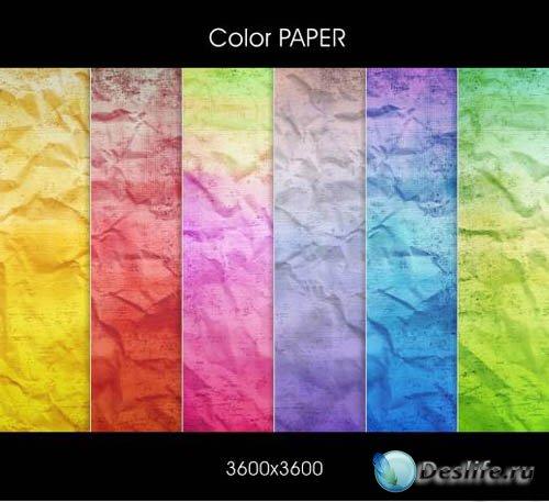 Textures - Color Paper