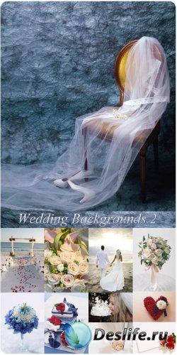 Фотоклипарт - Свадебные фоны 2