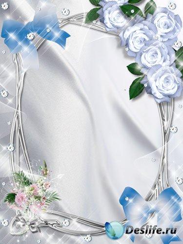 Рамка для фото - Нежные цветы