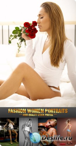 Stock Photo - Fashion Women Portraits
