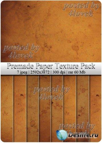 Premade Paper Texture