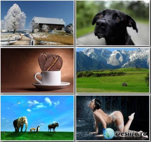 Сборник широкоформатных обоев и картинок (Pack 46)