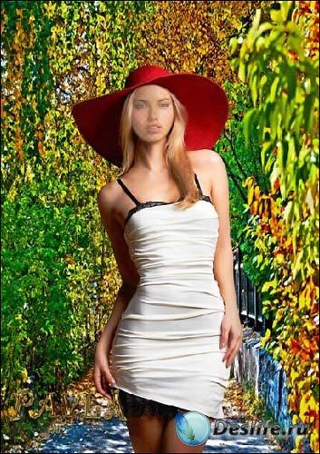 Костюм для Photoshop - Весенний сад