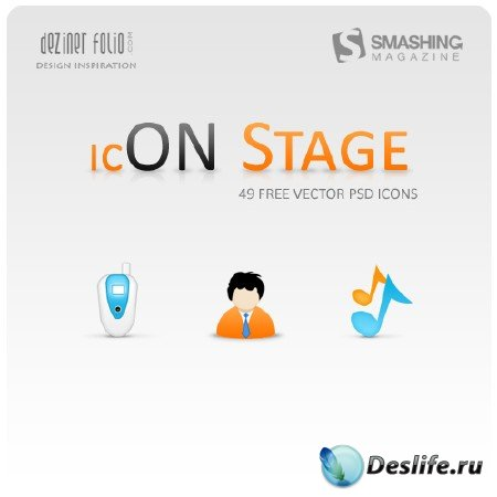 Иконки для рабочего стола (On Stage Icon Set)