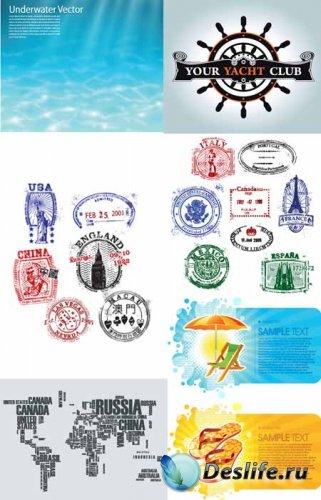 Travel - Stock Vectors | Путешествия и туризм в векторе