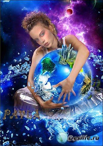 Костюм для Photoshop - Повелительница стихий