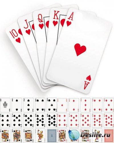 Векторный клипарт – Полная колода игральных карт