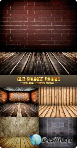 Stock Photo - Old Grunge Rooms
