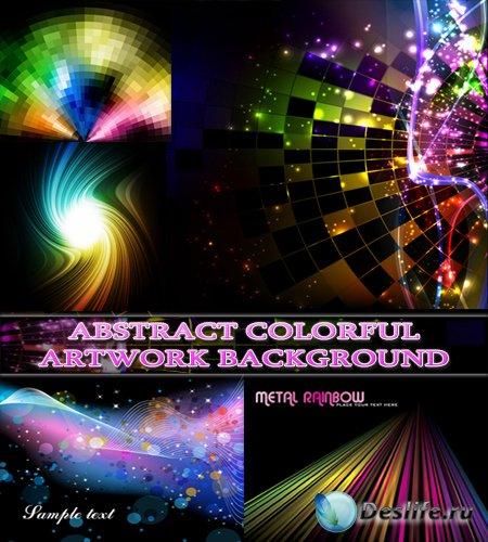 Абстрактные красочные фоны