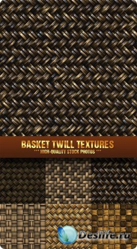 Stock Photo - Basket Twill Textures