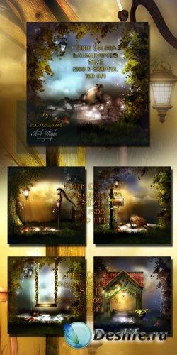 Фоны для фотошопа - Истинная красота природы
