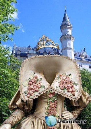 Костюм для фотошопа – Барышня в замке