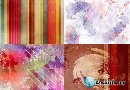 Набор фонов и текстур для фотошопа