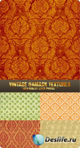 Stock Photo - Vintage Damask Textures