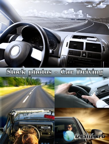 Фото-клипарт на тему: Вождение автомобиля