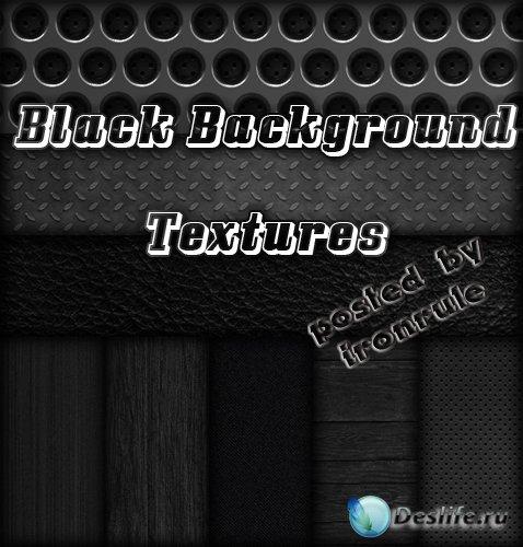 Черные фоны - текстуры