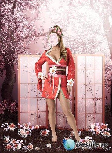 Женский костюм для фотошопа – Красавица востока