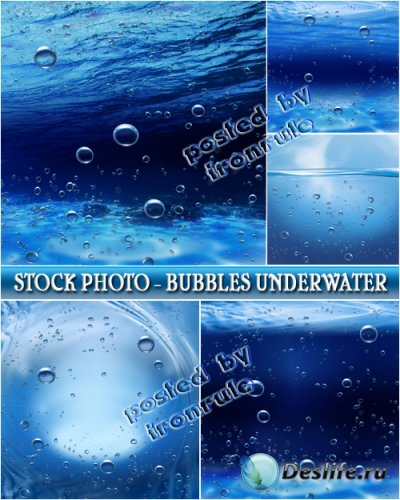 Стоковый фото-клипарт - Подводные пузыри