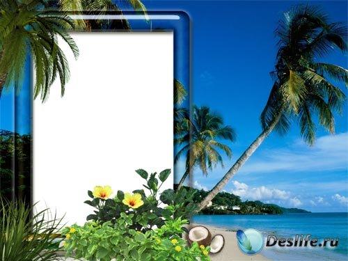 Рамка для фото –  Райский остров