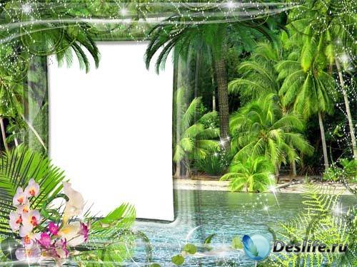 Рамка для фото –  Остров мечты