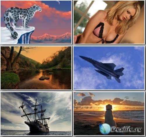 Широкоформатные обои и картинки (Mix HD Wallpaper) #79