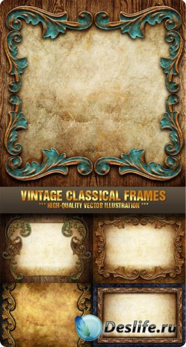 Stock Photo - Vintage Classical Frames
