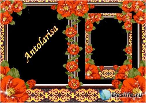 Рамки для фотошопа - Яркость цветов