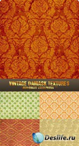 Винтажные дамасские текстуры / Vintage Damask Textures