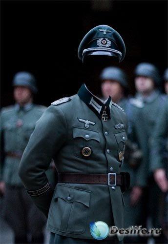 Костюм для фотошопа - Немецкий офицер