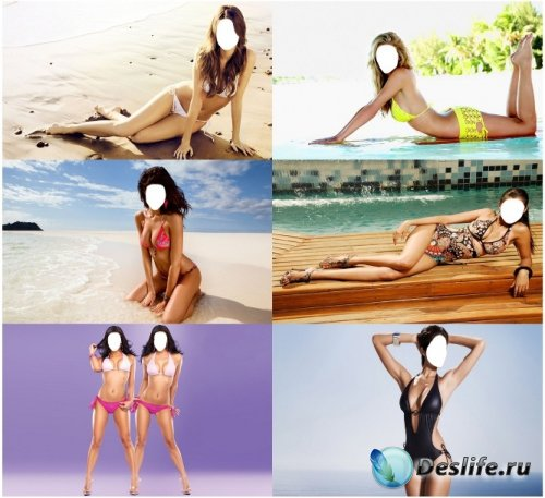 Костюм для фотошопа - Девушки в купальниках. Часть 2