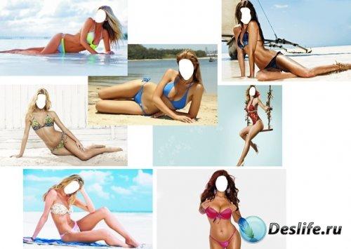 Костюм для фотошопа - Девушки в купальниках. Часть 3