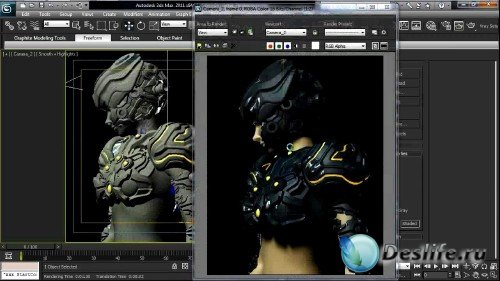 Digital Tutors - Creative Development: Artistic Character Modeling in 3ds Max [2011, ENG]