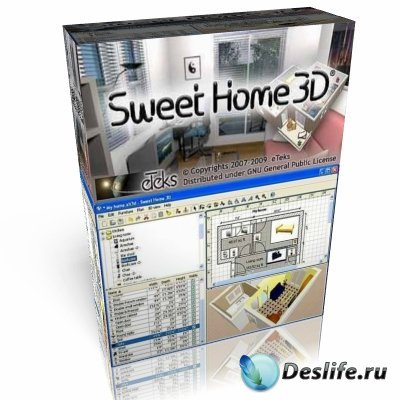 Sweet Home 3D 3.3 ( Portable )