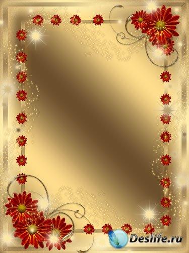 Рамка для фото - Цветы всегда прекрасны