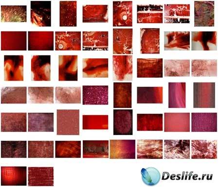 Красные текстуры / red textures