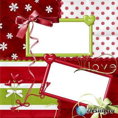 Рамкa для Фотошопа - Love