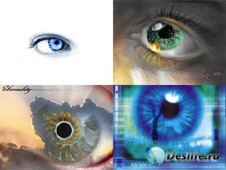 Обои для рабочего стола - Глаза