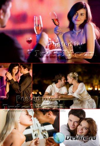 Клипарт – Влюбленная Пара