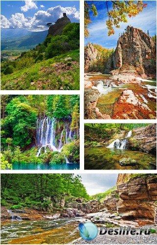 Горные пейзажи и ландшафты - растровый клипарт | Amazing Landscapes